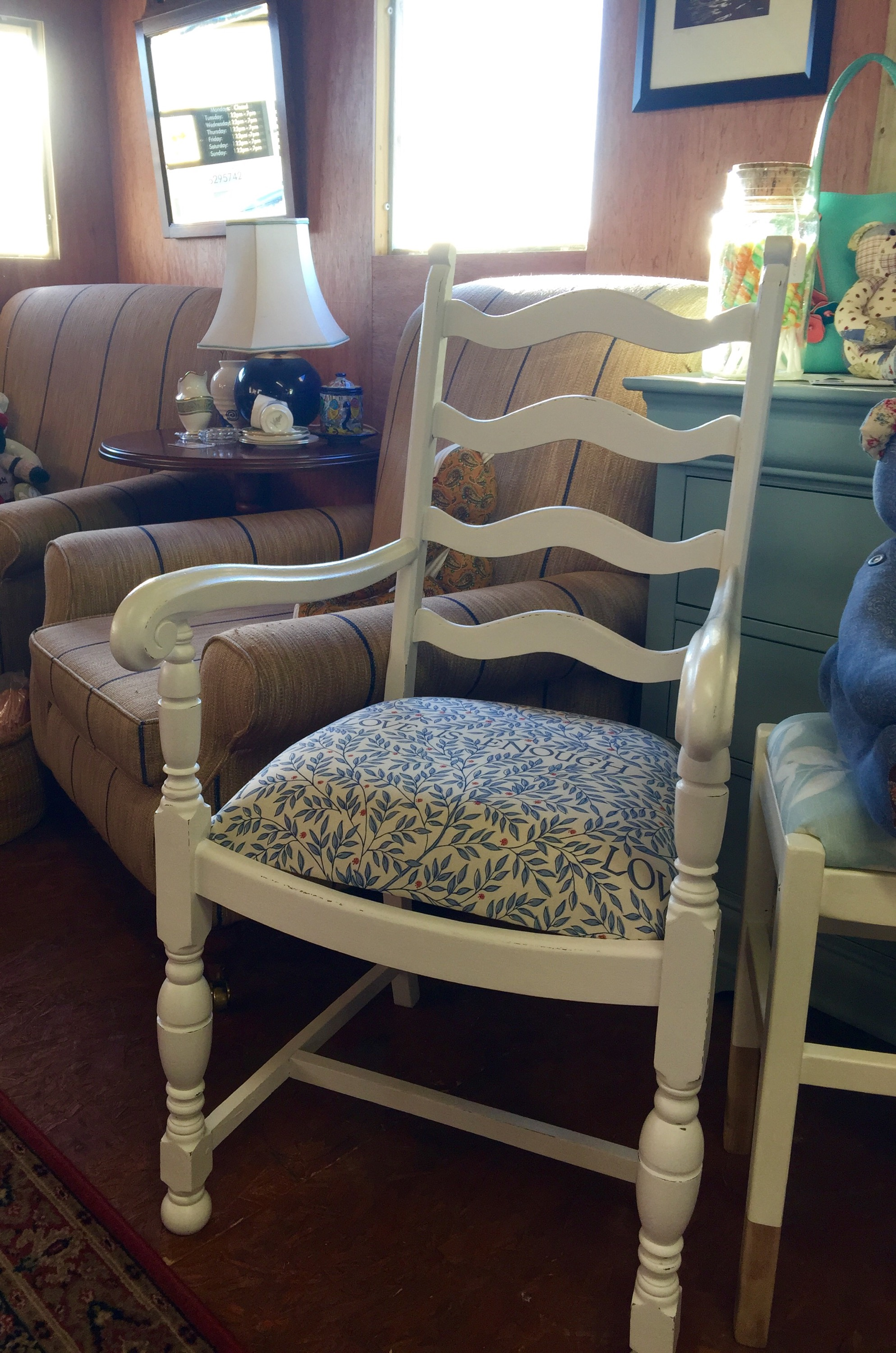 A Vintage Bedroom Chair