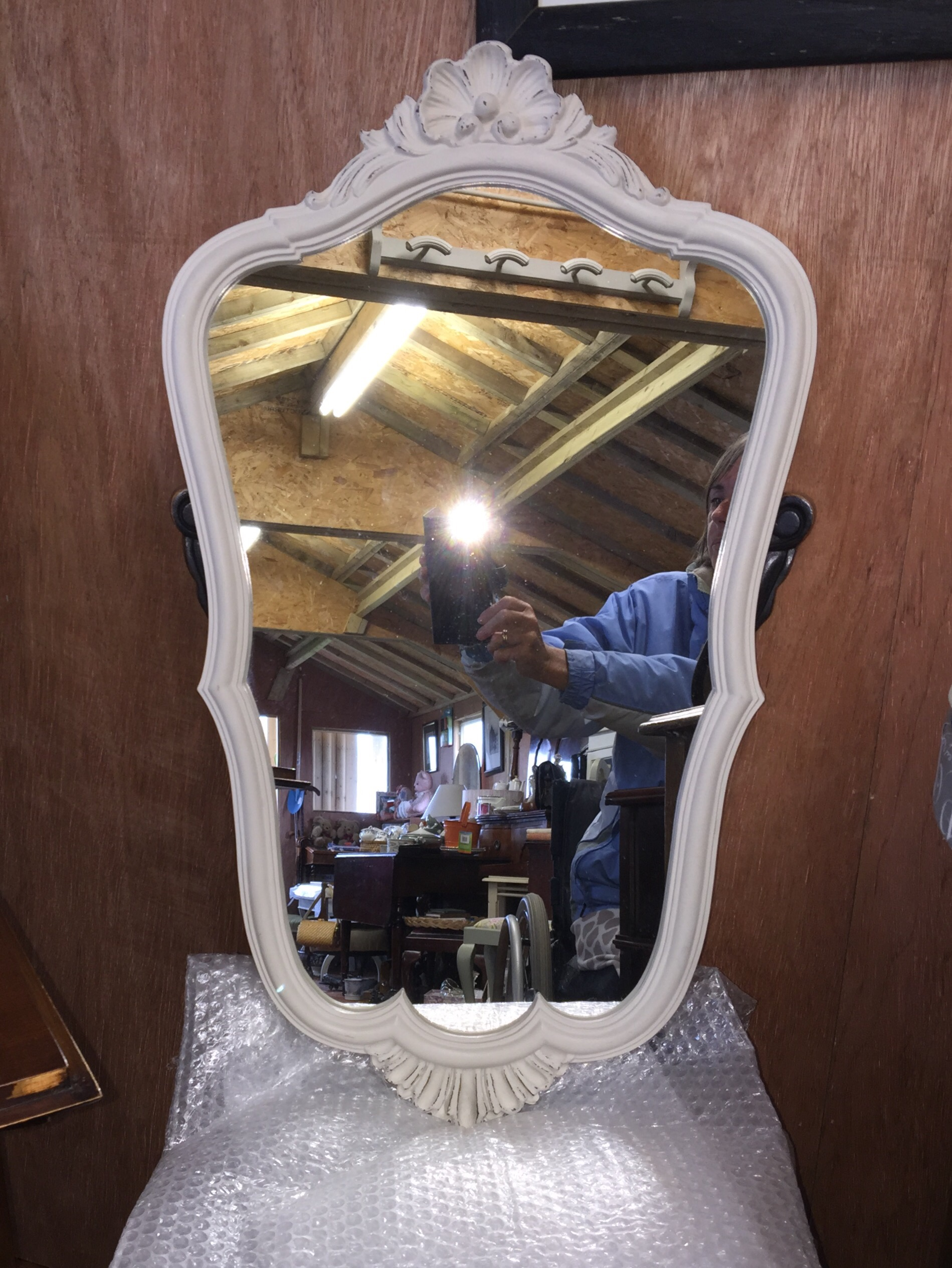 A Vintage Hall , Landing or Bedroom Mirror